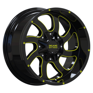 IO-05 Gloss Black Yellow Milled