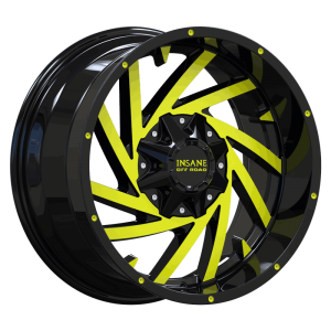IO-13 Gloss Black Yellow Milled